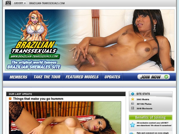 Brazilian Transsexuals Without Paying
