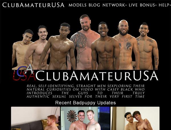Club Amateur USA Using Pay Pal