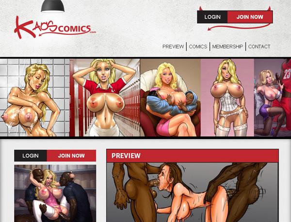Discount Kaos Comics Code