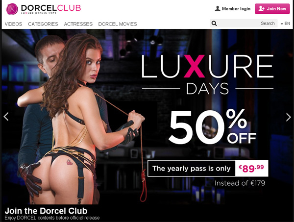 Dorcelclub Offer Paypal