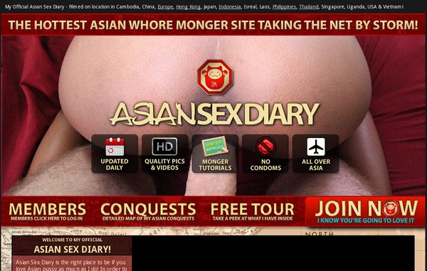 Free Asian Sex Diary Account Logins