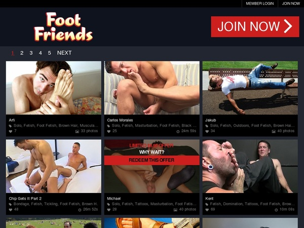 Friends Foot With Paypal