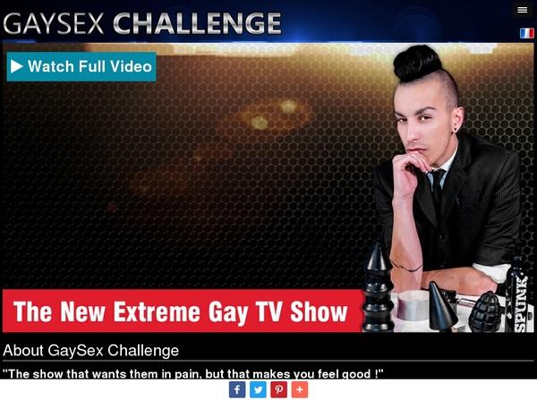 Gay Sex Challenge Promo Tour