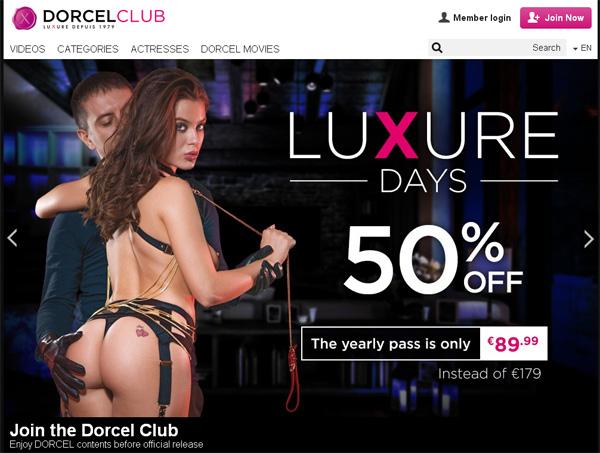 Get Into Dorcel Club