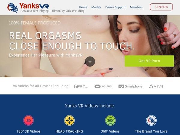 Get Yanksvr Account