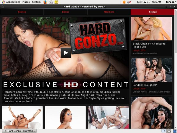 Hardgonzo.com Porn Accounts