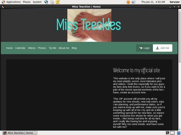 Login Missteeckles.modelcentro.com Free Trial