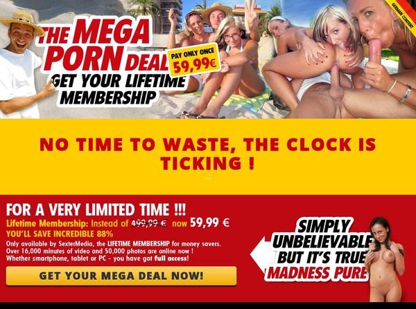 Mega Porn Deal Free Memberships