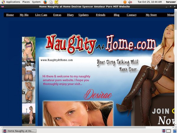 Naughty At Home Members Area