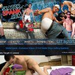 Skater Spank Sign In
