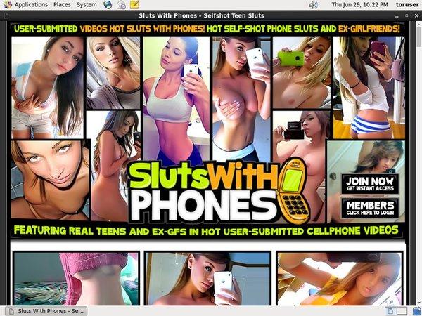 Slutswithphones Discount Code 50% Off
