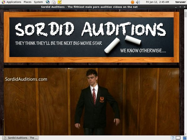 Sordid Auditions Vendo Discount