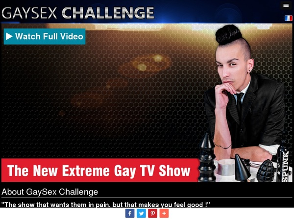 Www Gay Sex Challenge