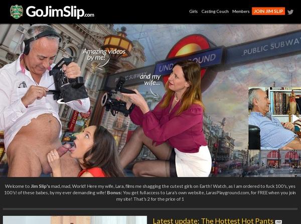 Go Jim Slip Join Form