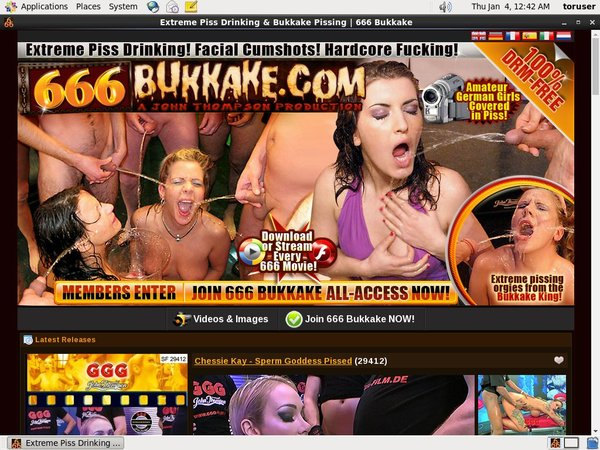 Account 666 Bukkake