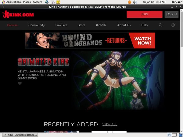 Animated Kink Subscription Deal