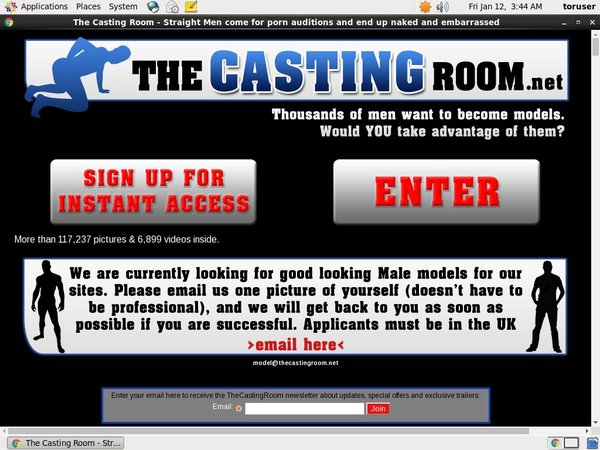 The Casting Room Free Trial Url