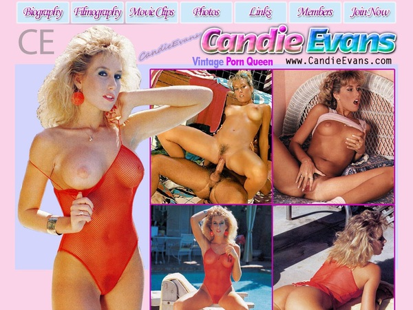 Candy Evans Free Trial Account