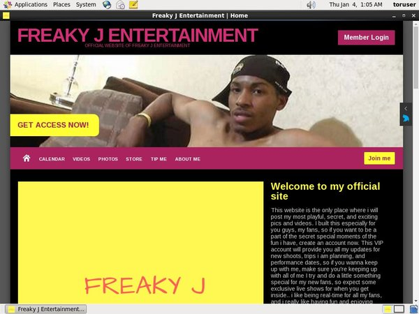 Freakyjentertainment.modelcentro.com With Bank Pay