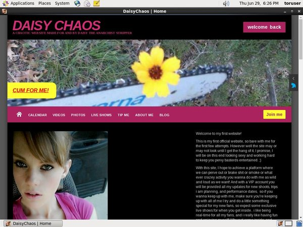 Login To DaisyChaos Free