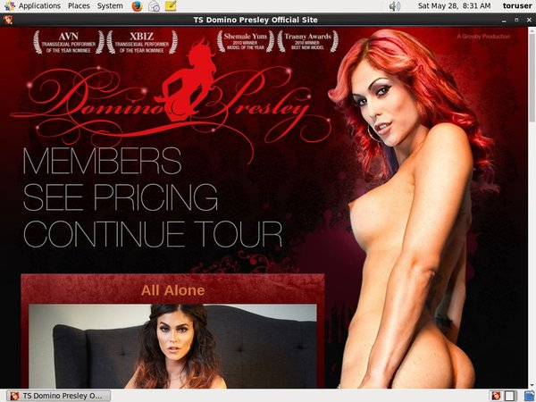 Join TS Domino Presley With Paypal