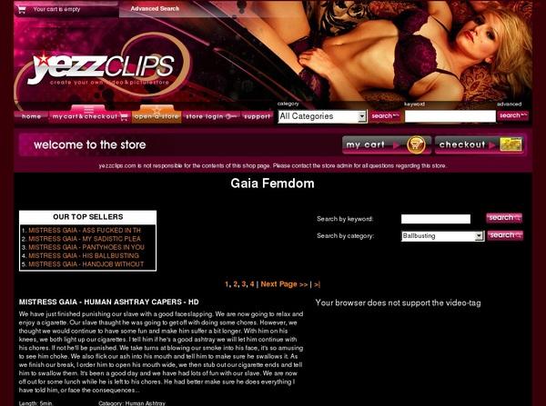 Discount Gaia Femdom Deal