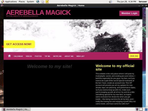 Aerebella Magick Discount Accounts