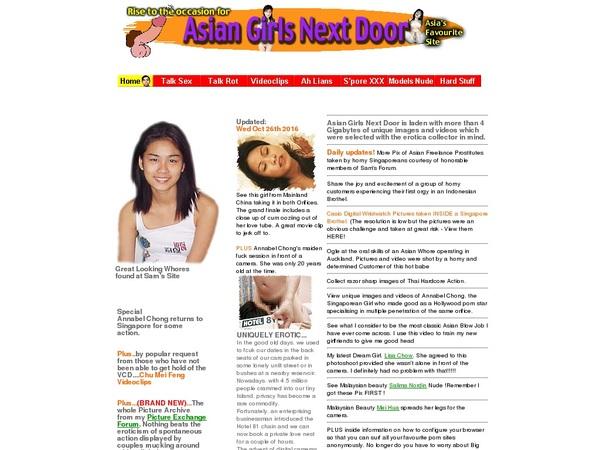 Free Accounts For Asiangirlsnextdoor.com