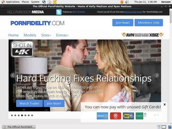 Pornfidelity.com Logon