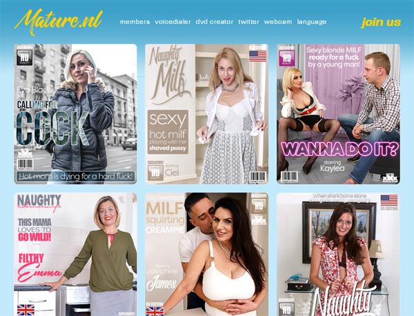 Discount Mature.nl Price