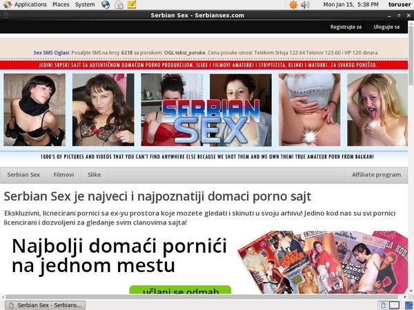 New Serbiansex.com Promo Code