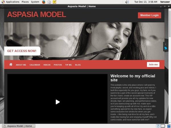 Get Aspasiamodel.modelcentro.com Deal