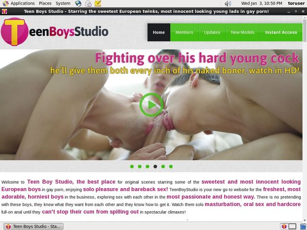 Teen Boys Studio Member Access