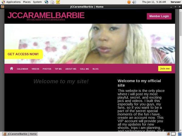 JCCaramelBarbie Promotion