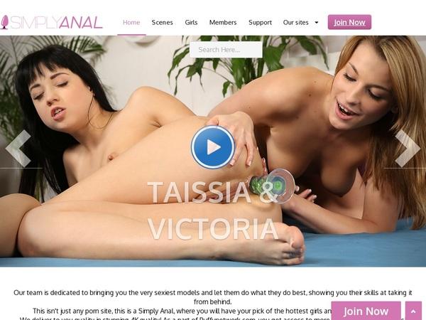 Simplyanal.com Betalen