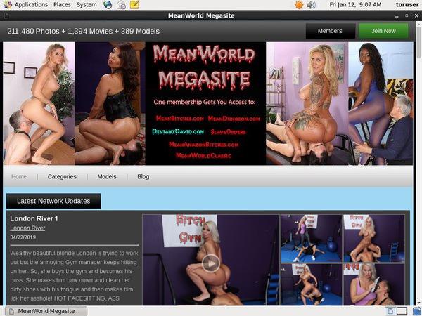 Meanworld.com Vendo
