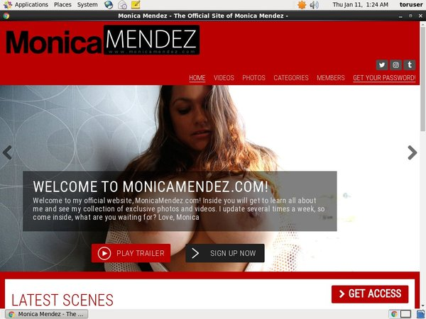Discount Monica Mendez Deal