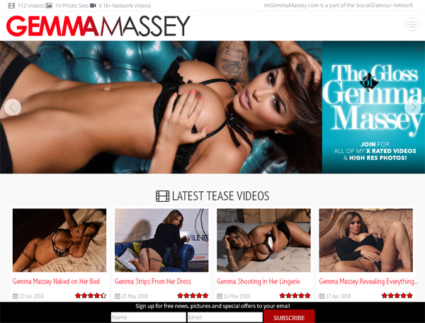 Im Gemma Massey Free Account