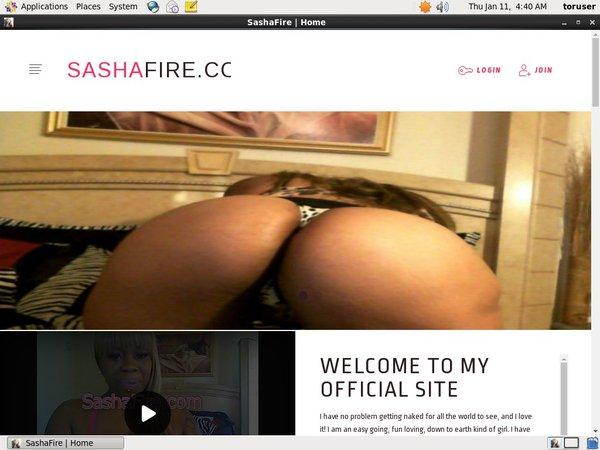 Sasha Fire Full Com