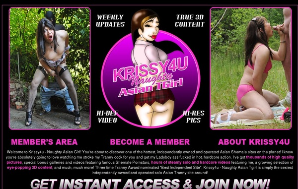 Free Krissy 4 U Login Account