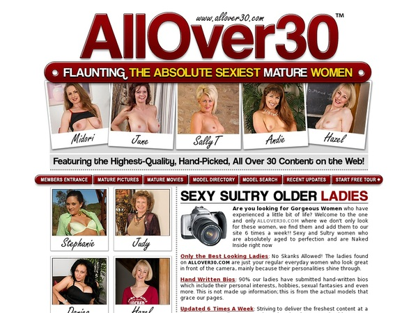 All Over 30 Original Discount