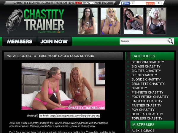 Com Chastitytrainer Trial