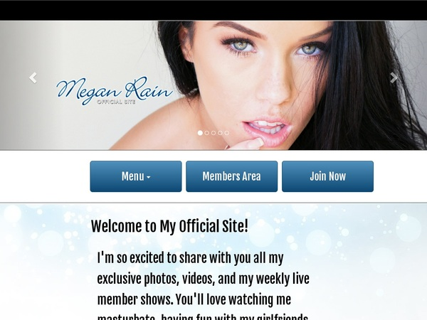 Meganrain Account Paypal