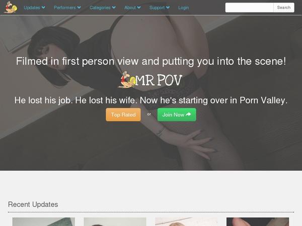 Mr Pov Sign Up