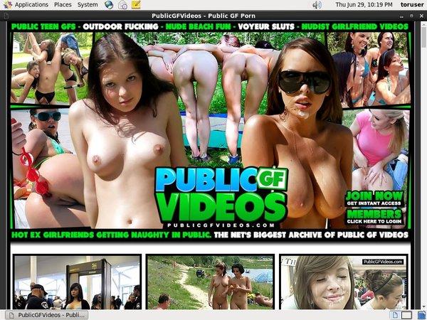 Publicgfvideos.com Using Pay Pal
