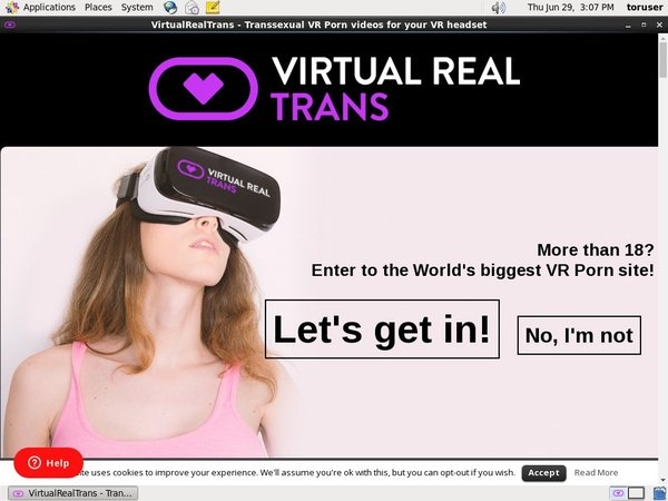 Virtual Real Trans Trial Offer