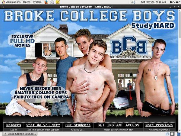Brokecollegeboys Free Trial Membership