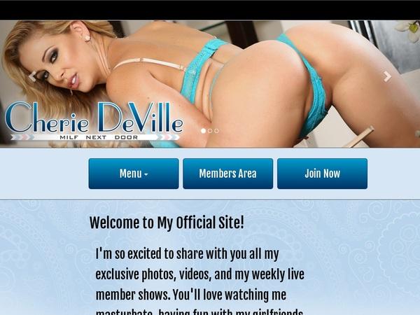 Cherie DeVille Accounts