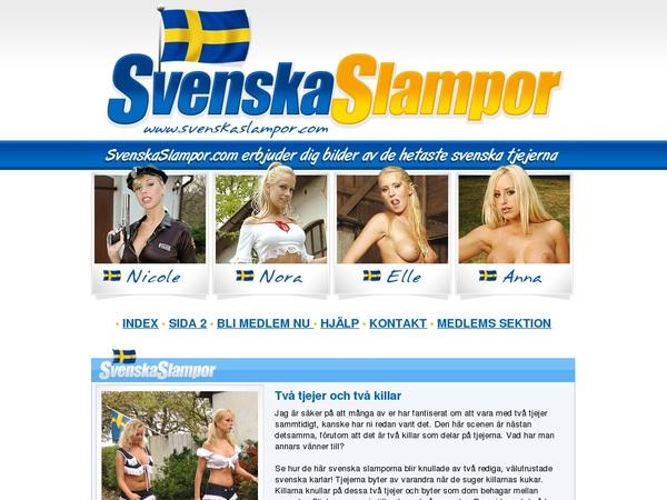 Svenskaslampor.com Mit Bankkarte