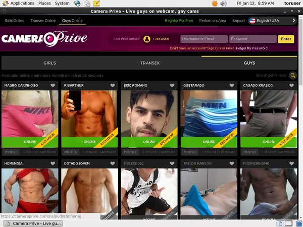 How To Join Camera Prive Gay